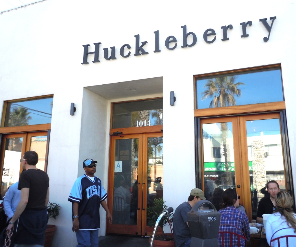 Good Bakery In Los Angeles: Huckleberry Cafe & Bakery/Santa