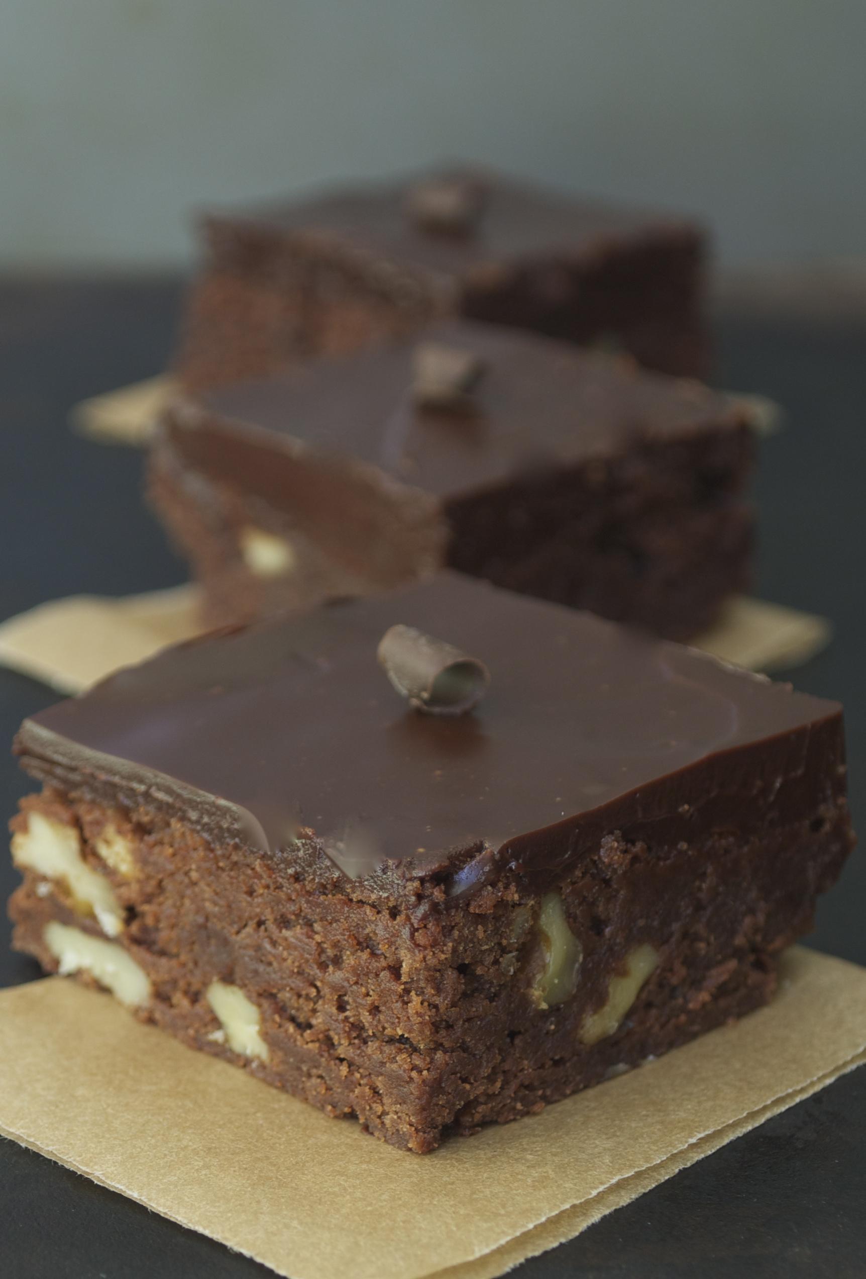 Chocolate Truffle Brownies Mama S Gotta Bake