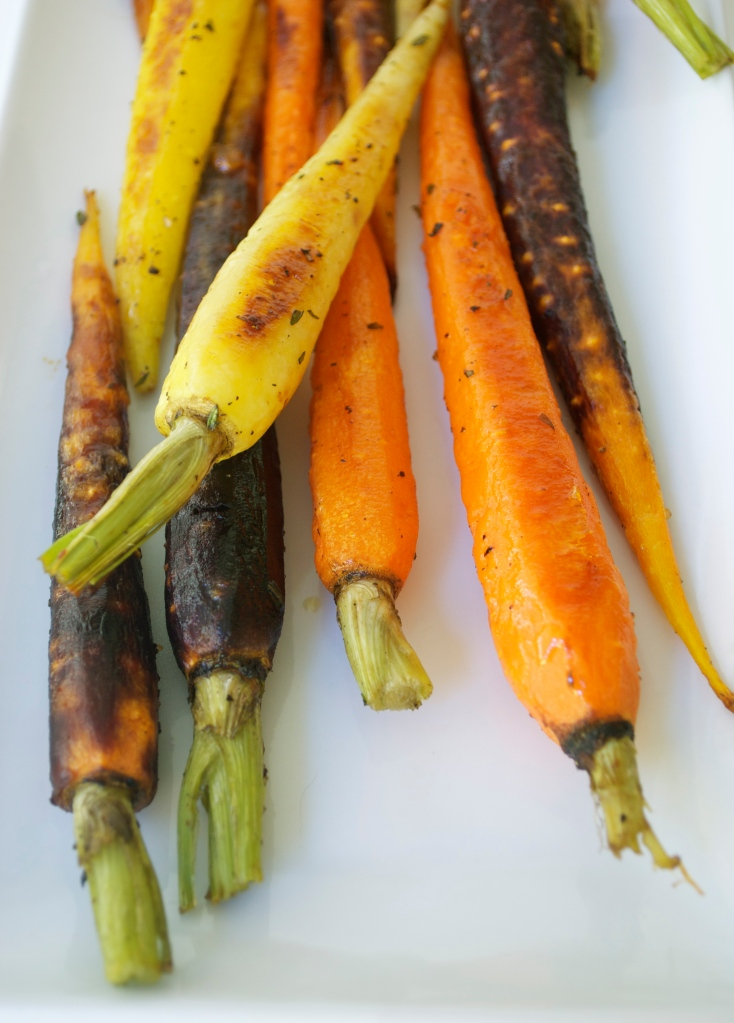 Roasted Carrots with Honey and Thyme