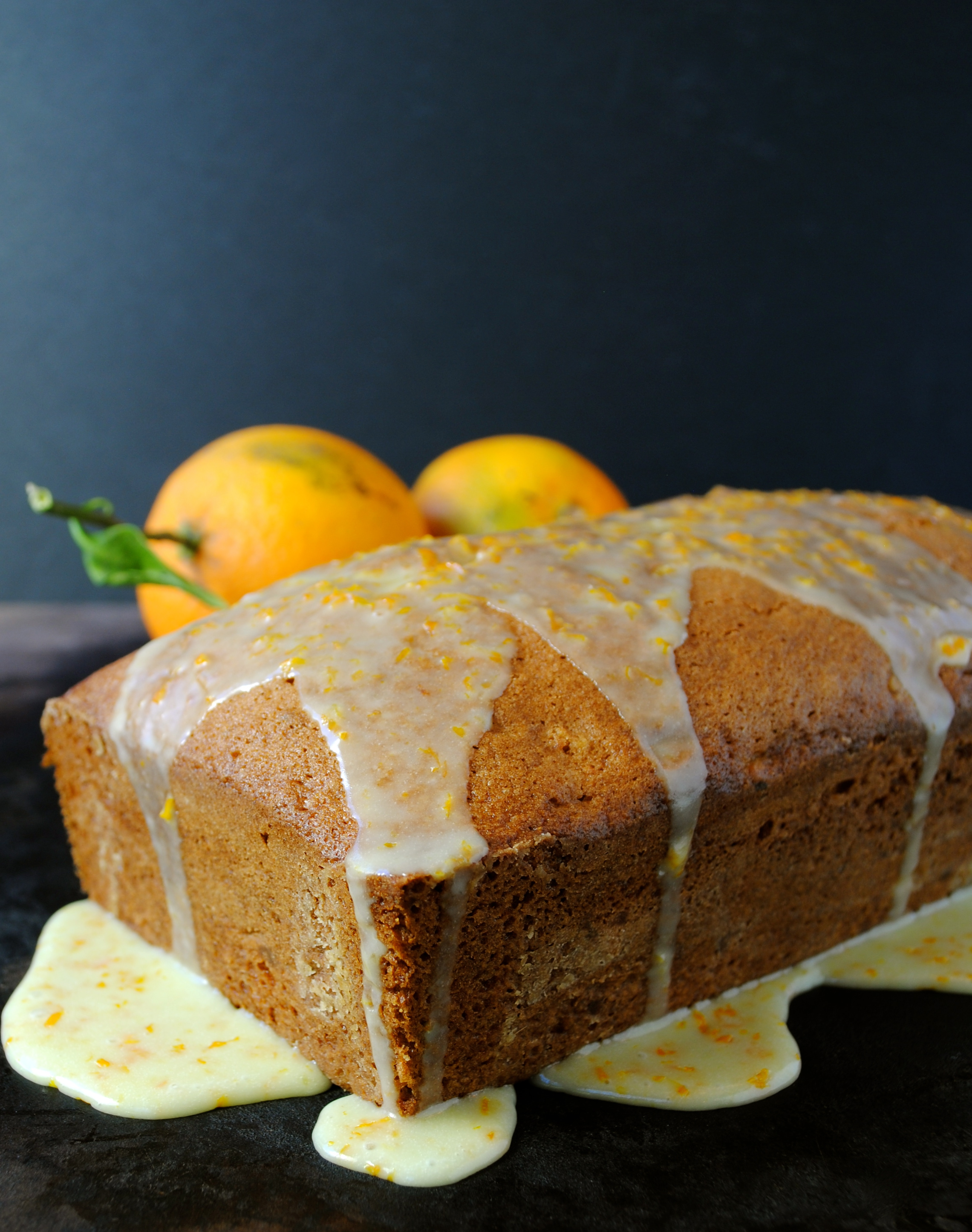 Orange Walnut Bread - Mama's Gotta Bake
