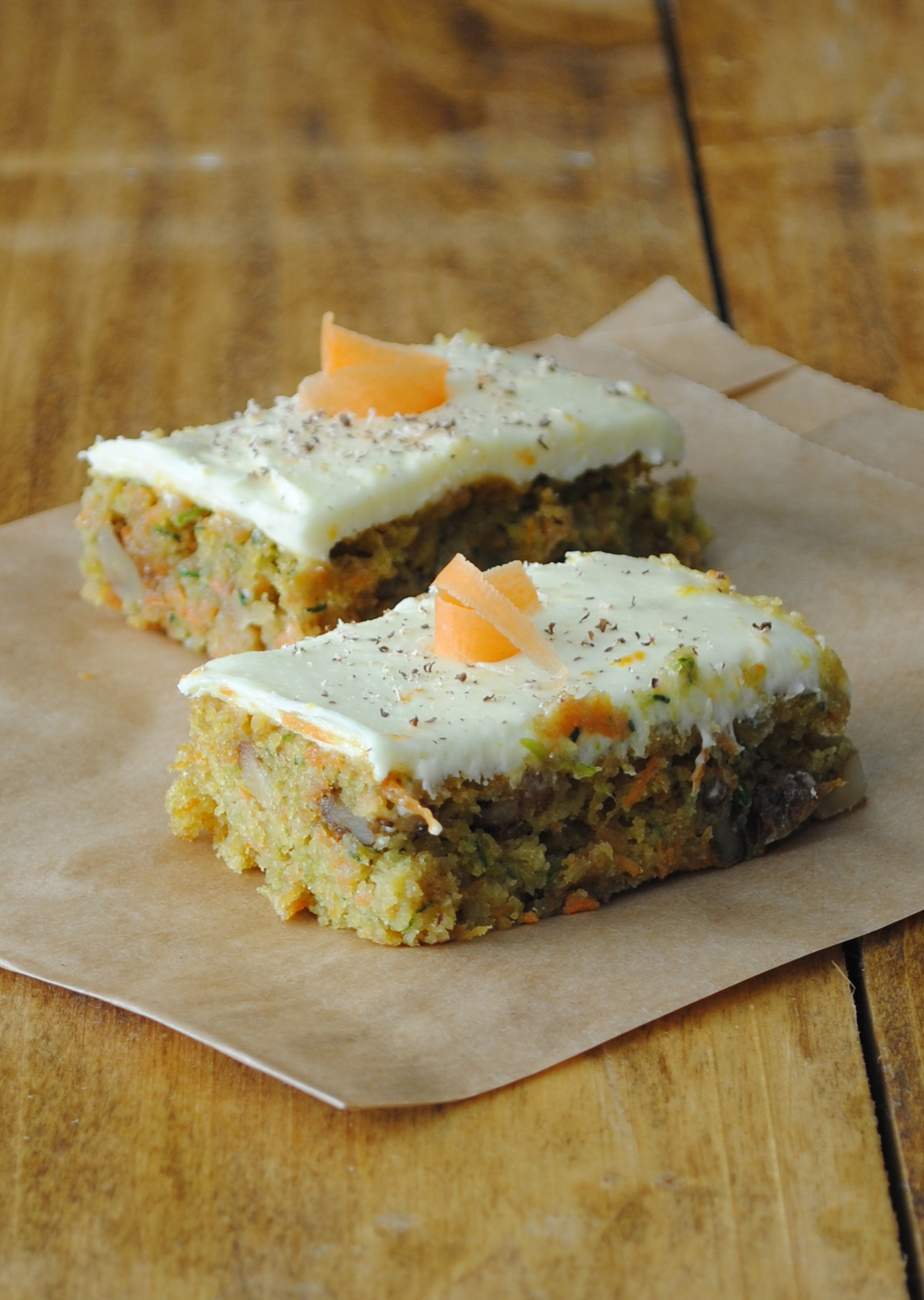 Carrot Zucchini Cake