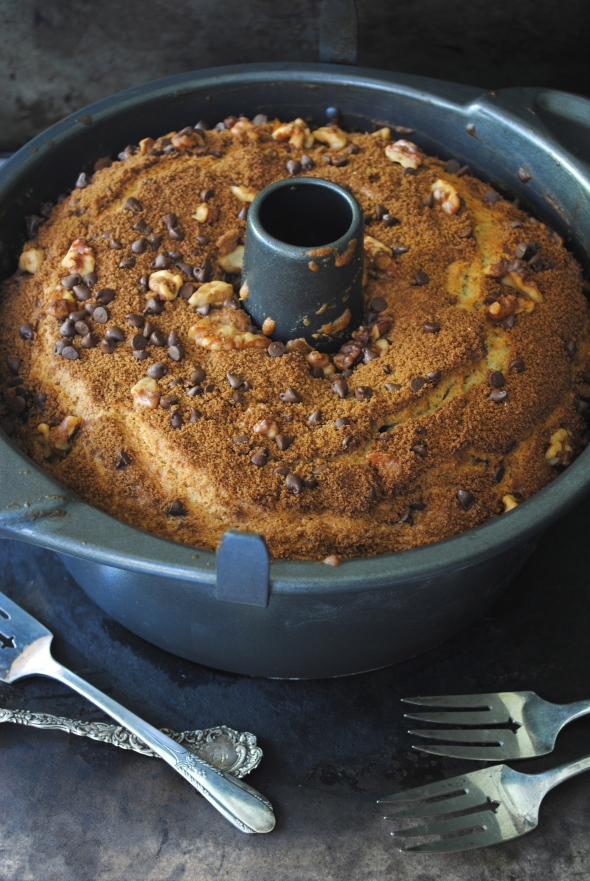 Cinnamon-Chocolate Coffee Cake