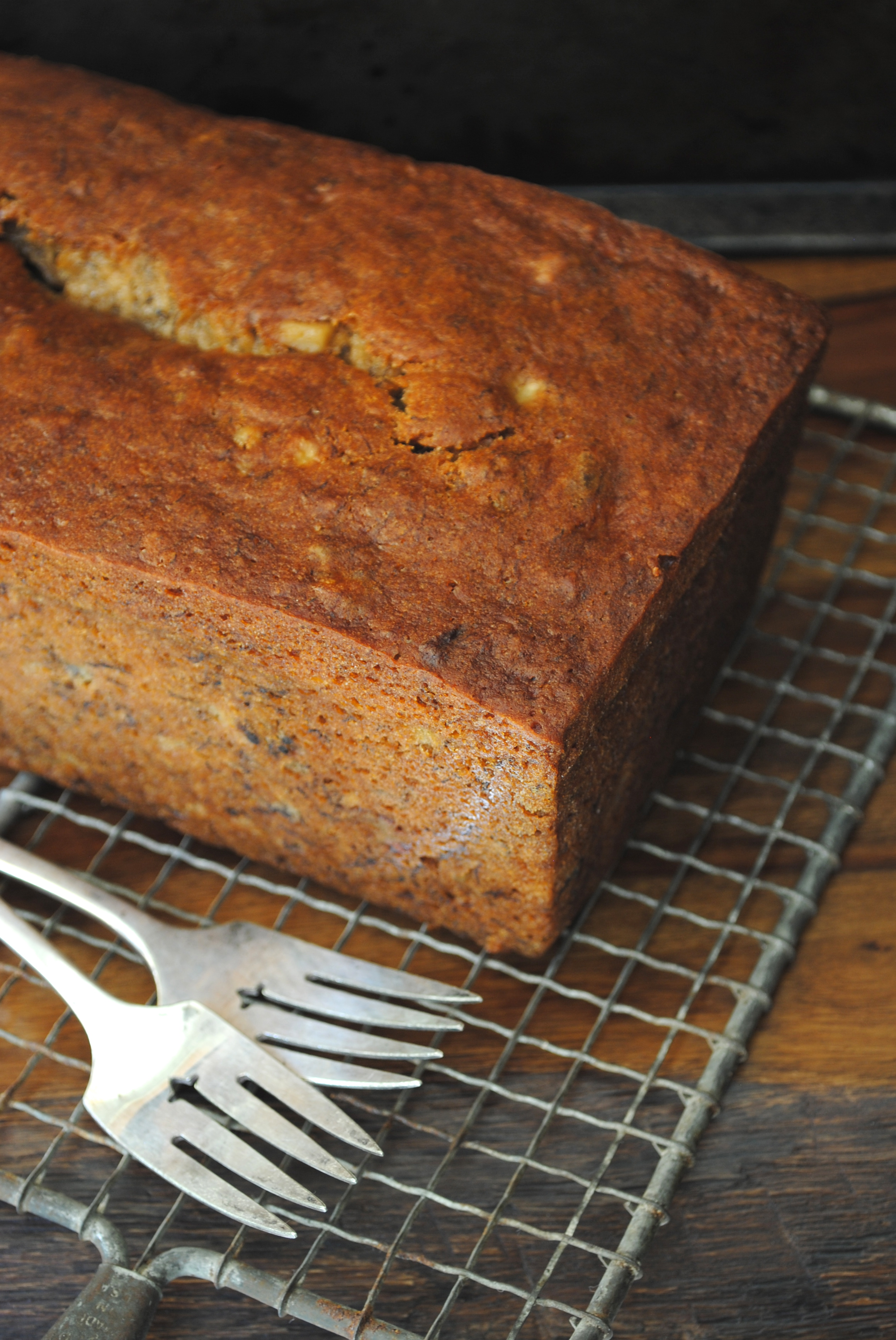 Banana Date Walnut Bread