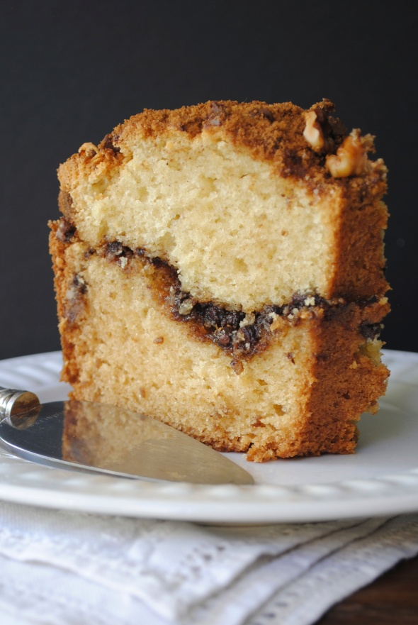 Cinnamon Chocolate Coffee Cake