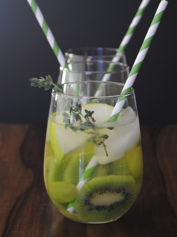 Kiwi Grape Sangria