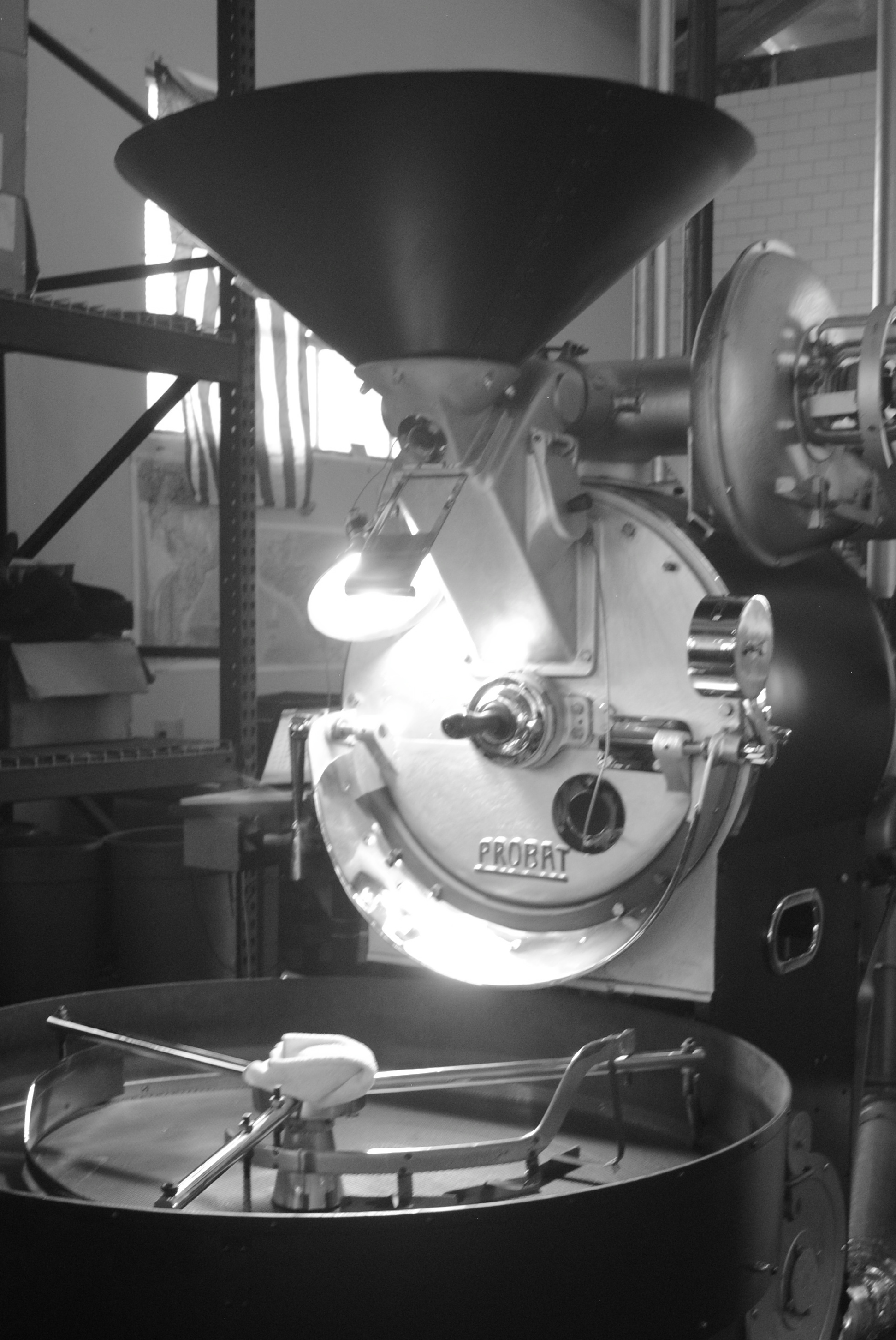 Handsome Coffee Roasters in action