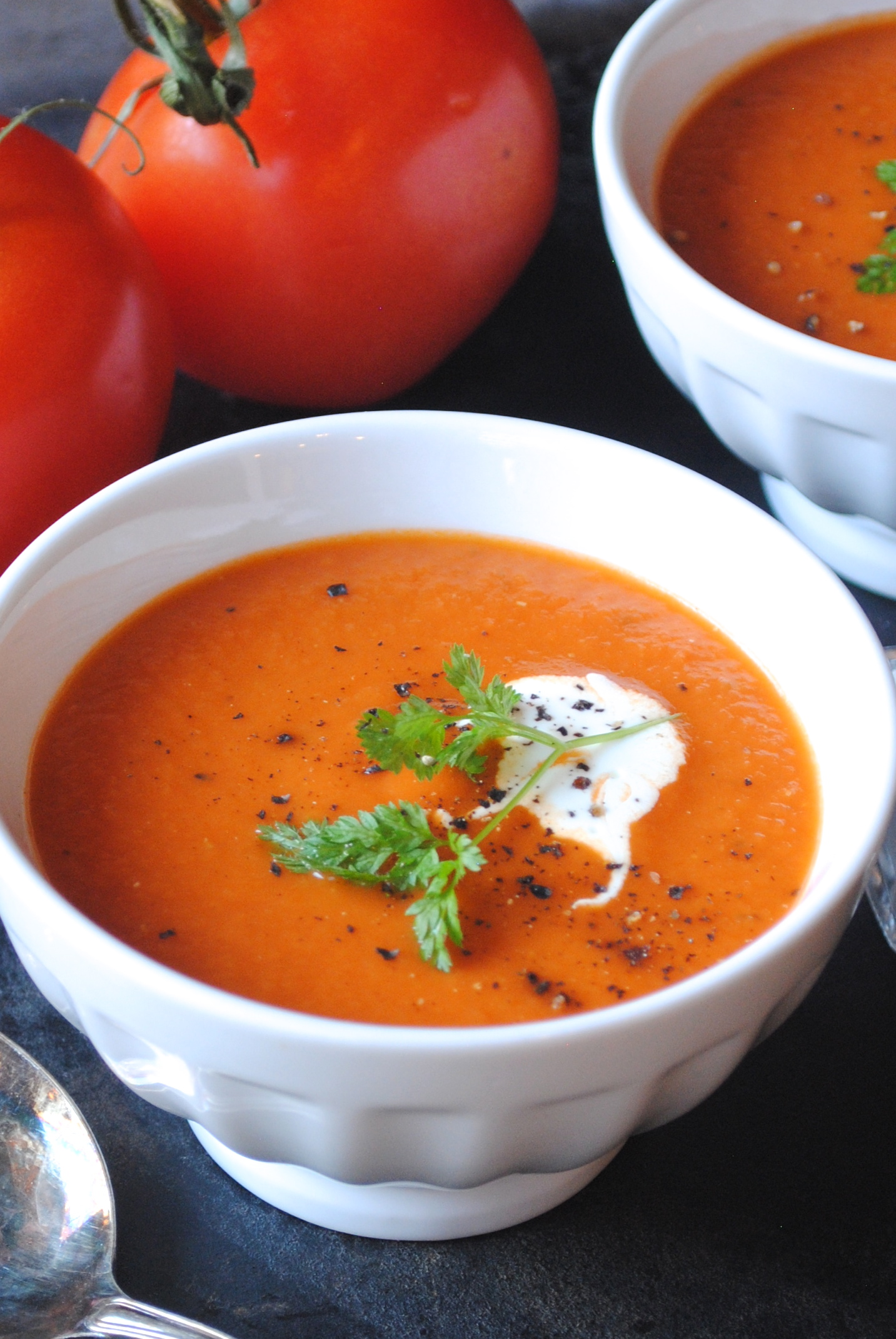 Roasted Tomato Soup Recipe Roasted tomato soup