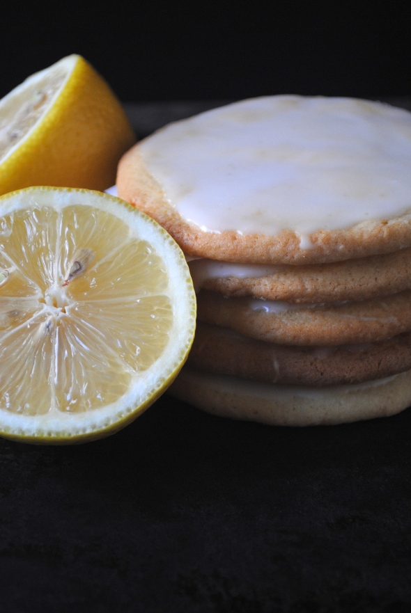 Lemon Glazed Cookies