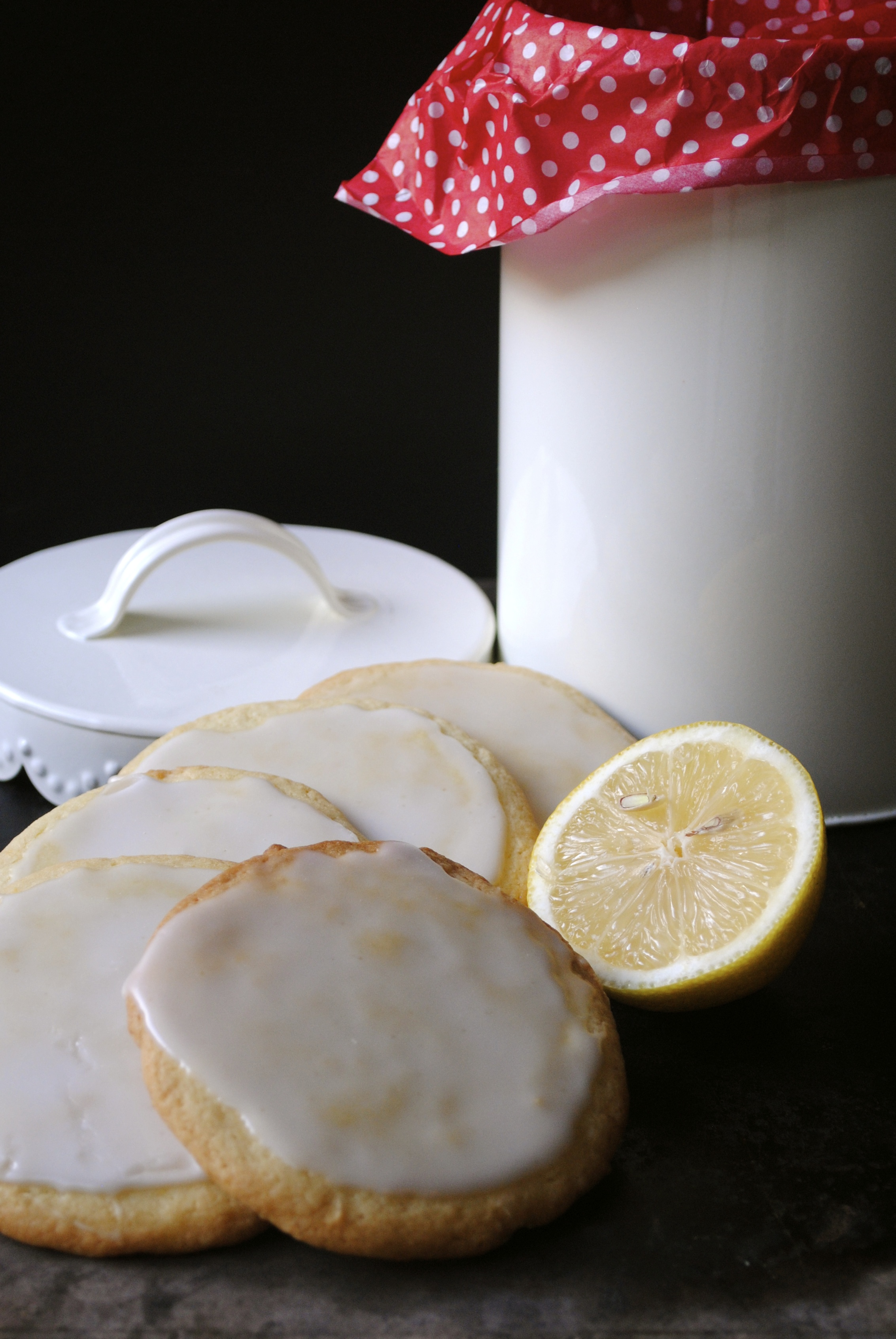 Glazed Lemon Cookies